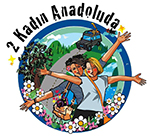 2 Kadın Anadolu'da Logo